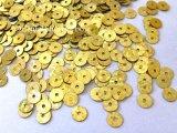スパンコール37・丸ゴールド(ホログラム)
