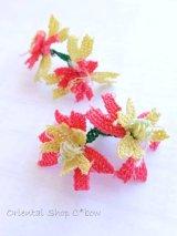 ヴィンテージ・イーネオヤ単体|イズミット|2蓮花|ピンク×クリーム