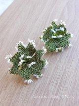 ヴィンテージ・イーネオヤ単体|イズミット|花|ダークモスグリーン