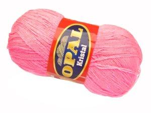 画像1: ボディタオル[リフ・エコたわし]製作毛糸・ピンク