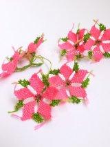 ヴィンテージ・イーネオヤ単体|ベルガマ・コザック|ホットピンク2連花