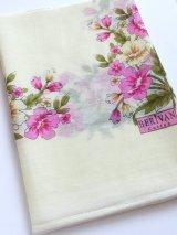 特価★スカーフ*オヤなし・berivan|クリーム×ピンク