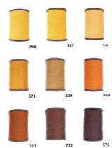 MUZ撚り済み:人工シルク糸|3本撚り糸|4