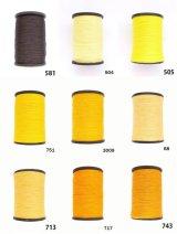 MUZ撚り済み:人工シルク糸|3本撚り糸|5