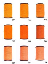 MUZ撚り済み:人工シルク糸|3本撚り糸|6