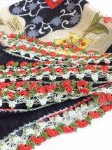 カッパドキア:アンティークオヤスカーフ|トゥーオヤ|グラデ糸によるりんご