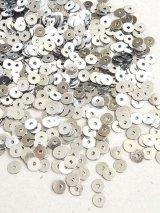 スパンコール|4mm|シルバー(メタル)・10g