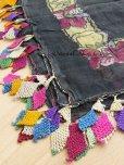 画像2: ケレス|木版アンティークオヤスカーフ(キャートヤズマ)・シルク糸