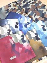 LUXS大判スカーフ 迷彩柄☆カモフラージュ