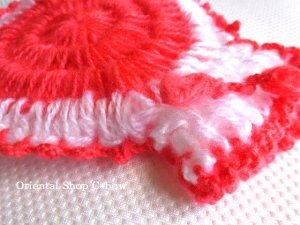 画像3: ボディタオル[エコたわし]・ふわふわまる袋・ピンク