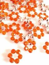 ラインストーン芯・オレンジ