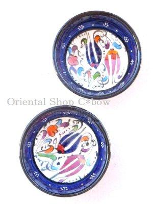 画像2: 特価・キュタフヤ*陶器|ミニボウル|ブルー系2つセット