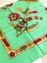 ムドゥルヌのスカーフ*オヤなし・ライムグリーン