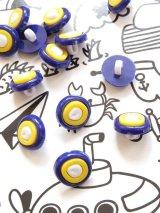ナザルボンジュウボタン|4個セット|ブルー