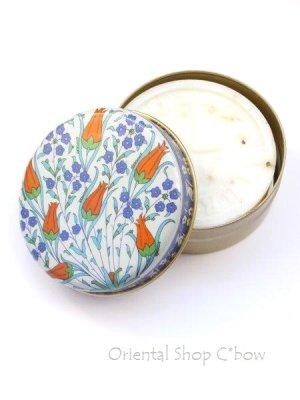 画像1: トルコ製:オリーブ石鹸★可愛いオリエンタル缶入り:13