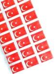 画像2: 月星シール トルコ国旗 (2)