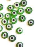 画像2: ナザルボンジュウパーツ・緑色|8ミリ|10個 (2)