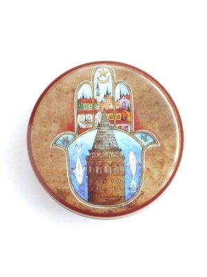 画像2: トルコ製:オリーブ石鹸★可愛いオリエンタル缶入り:17