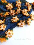 画像1: ナムルン|ヴィンテージ|ボンジュックオヤ:ミッドナイトブルー×オレンジ (1)