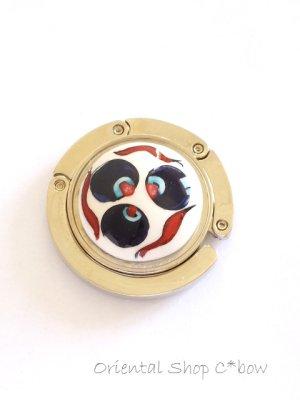 画像3: 在庫処分値下げ☆キュタフヤ|手描きの陶器のバックハンガー|チンタマーニ(如意宝珠)