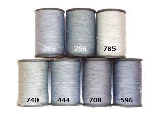 画像2: MUZ撚り済み:人工シルク糸|708