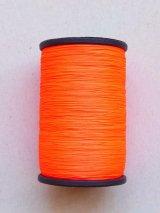 MUZ撚り済み:人工シルク糸|蛍光|オレンジピンク-7003