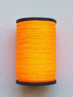 画像1: MUZ撚り済み:人工シルク糸|蛍光|オレンジ-7002