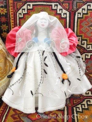 画像1: カッパドキア|ソアンル手作り人形|ゲリン(花嫁)|2