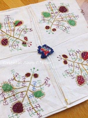 画像1: チェブレ 花嫁持参品・手刺繍ハンカチ 15