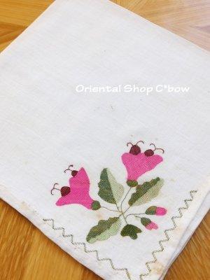 画像3: チェブレ|花嫁持参品・手刺繍ハンカチ|28