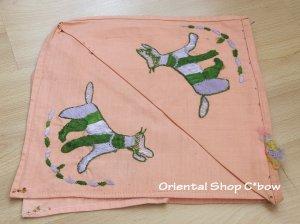 画像3: チェブレ|花嫁持参品・手刺繍ハンカチ|珍しい動物モチーフ|53