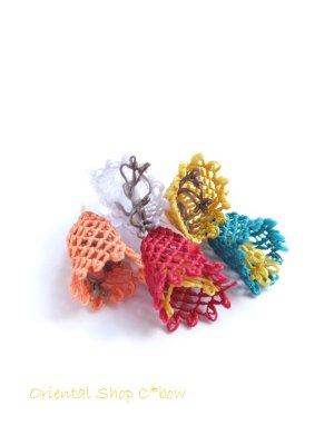 画像2: 手作りアクセに☆シルク糸:イーネオヤ単体|すずらん