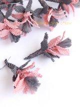 手作りアクセに☆シルク糸:イーネオヤ単体|ユルバシュチチェーイ|グレー・ピンク