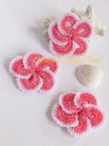手作りアクセに☆トゥーオヤパーツ・3個セット|ピンク