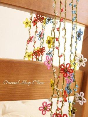 画像1: 冬に咲かせるちいさい花☆ボンジュックオヤグラスコード|メキッキオヤ|5カラー