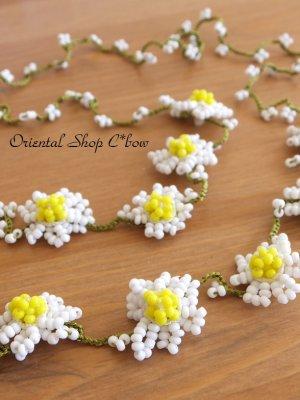 画像1: お花☆ボンジュックオヤグラスコード|デイジー