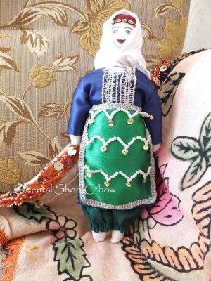 画像1: トカット|人形:ミニサイズ|グリーン