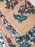 画像5: ブルサ:イズニック|アンティークオヤスカーフ|大きなイーネオヤ(人工シルク糸)|ブラウン・柄がすごく可愛い