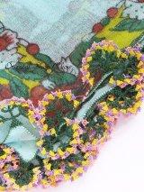 ブルサ:イズニック|アンティークオヤスカーフ|大きなイーネオヤ(ナイロン糸)|Z18