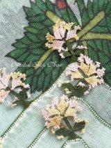 ブルサ:イズニック|アンティークオヤスカーフ|大きなイーネオヤ(シルク糸)|Z17