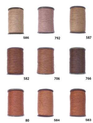 画像1: MUZ撚り済み:人工シルク糸|3本撚り糸|3