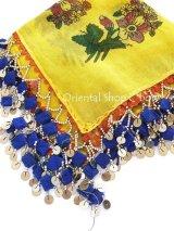 バルッケシル:アンティークオヤスカーフ|ドゥルメオヤ|イエロー