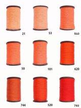 MUZ撚り済み:人工シルク糸|3本撚り糸|7