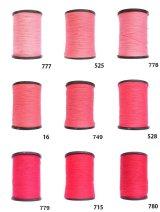MUZ撚り済み:人工シルク糸|3本撚り糸|9