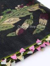 ブルサ|木版・アンティークオヤスカーフ・シルク糸イーネオヤ|BR25