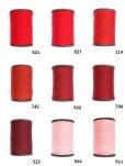 画像2: MUZ撚り済み:人工シルク糸 3本撚り糸 8 (2)