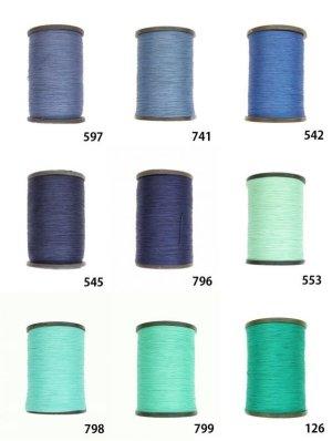 画像2: MUZ撚り済み:人工シルク糸|3本撚り糸|14