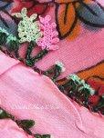 画像4: ボル|木版|アンティークイーネオヤスカーフ|シルク糸・魚の骨|ピンク