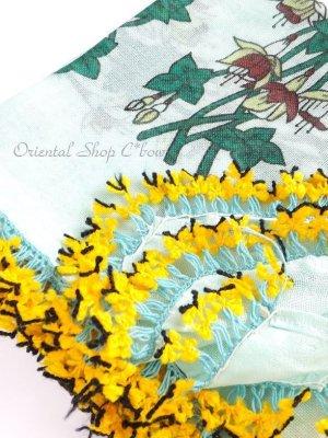 画像1: バルッケシル:アンティークオヤスカーフ|面白いイプリッキオヤ|キュペリ(フクシア)