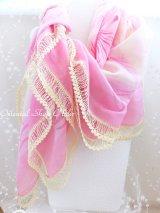 カッパドキア:大判・フィルケテオヤスカーフ|綺麗|ピンク
